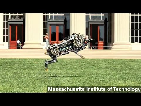 MIT's Robot Cheetah Unleashed — Can Now Run, Jump Freely