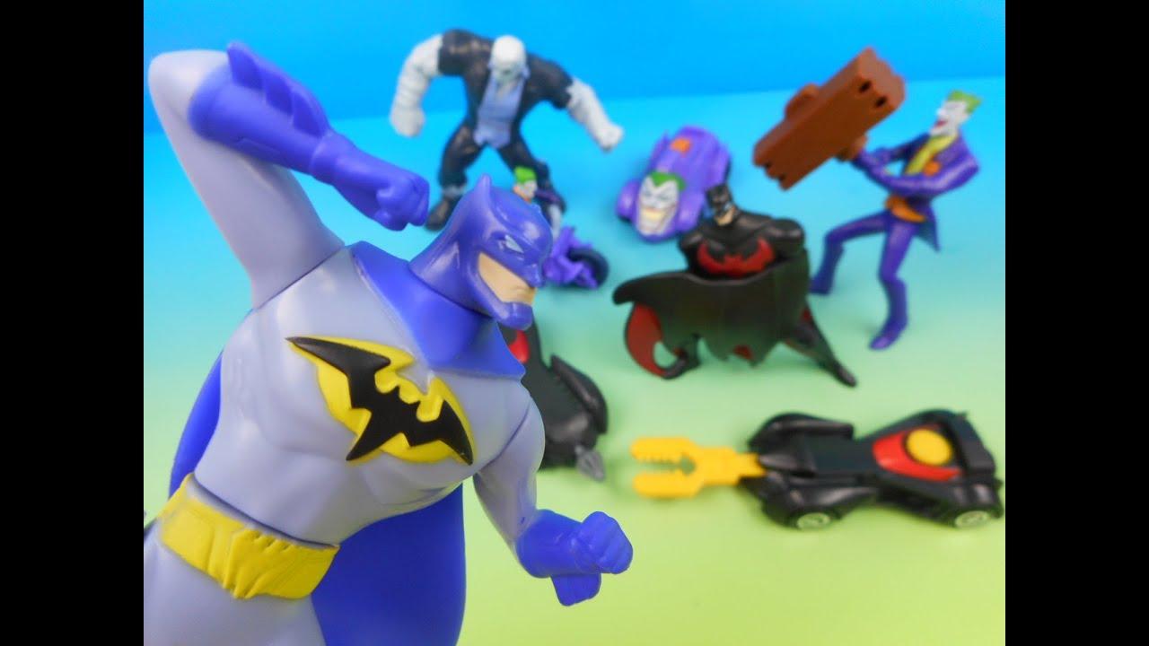 2015 BATMAN UNLIMITED SET OF 8 McDONALD S HAPPY MEAL KIDS TOYS