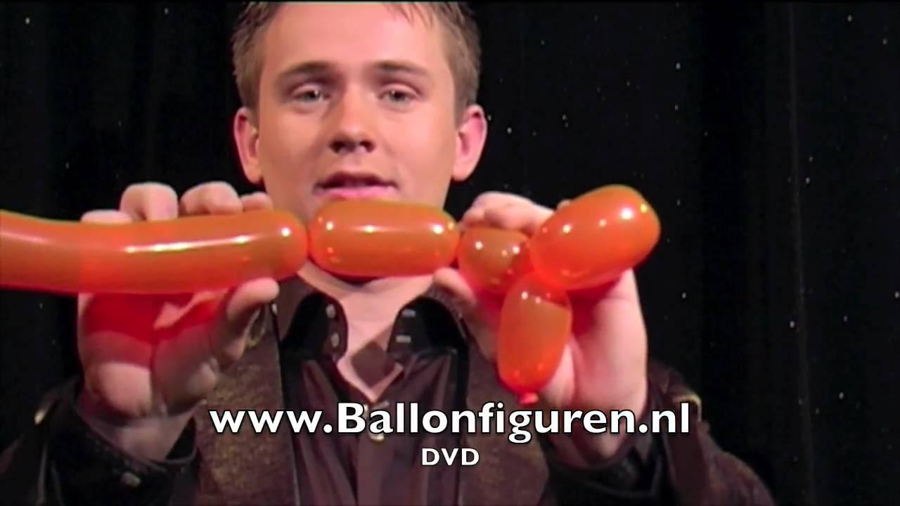 Leer een ballonhondje maken en andere figuren youtube - Een verwijderbare partitie maken ...