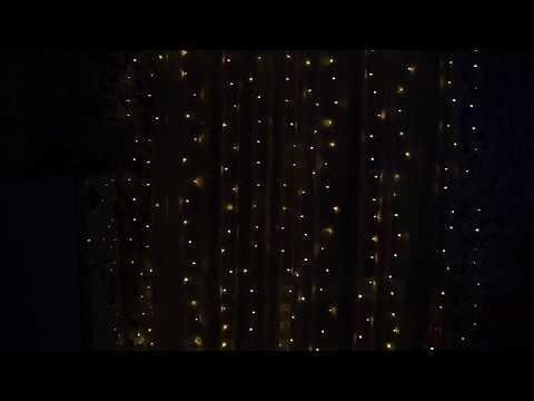 "LED гирлянда для окон, стен, веранд ""Светодиодный занавес"""