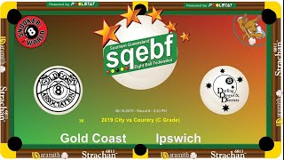 SQEBF City v Country | C Grade 8 Ball Teams - Gold Coast v Ipswich
