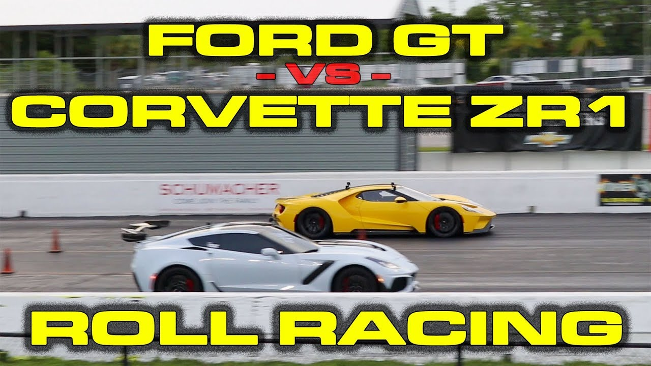 2020 Chevy C8 Corvette Stingray vs. C7, Ford GT and Porsche 911
