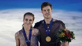 Синицина и Кацалапов завоевали золото чемпионата Европы в Австрии