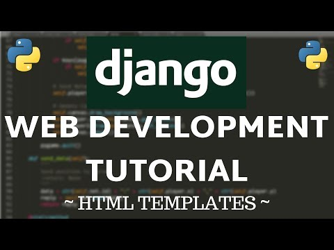 Django Tutorial #4 - Templates & Custom HTML thumbnail
