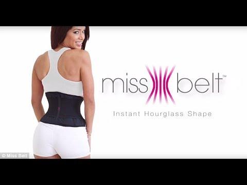 50f82ce3ed592 Miss Belt Instant Hourglass Shape - YouTube