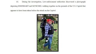 Georgia woman, mother of man arrested with zip ties at US Capitol arrested