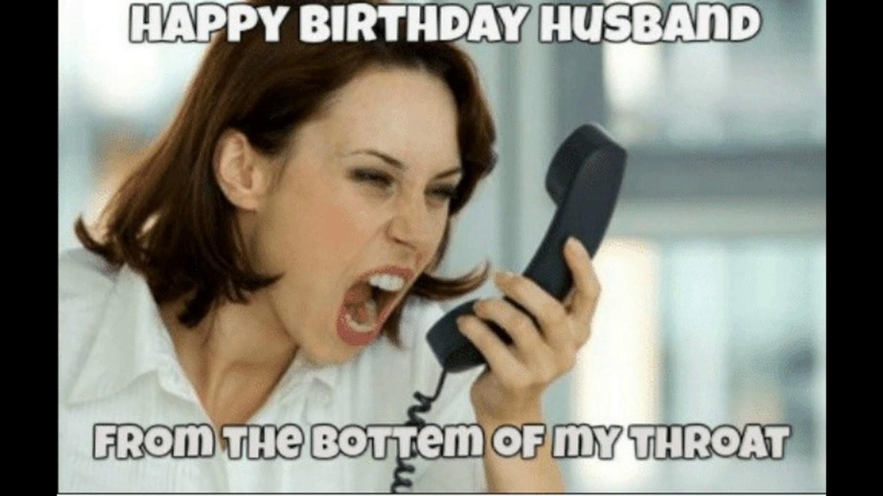 Funny Happy Birthday Husband Meme