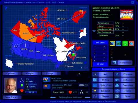 Canada 2008 Election Game (NDP)