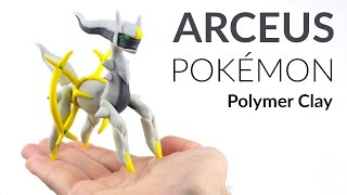 Arceus (Pokemon) – Polymer Clay Tutorial