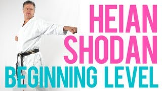 Heian Shodan - Beginning Level - Shotokan Kata by Soon Pretorius