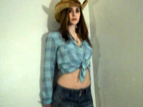 Teen cow girl