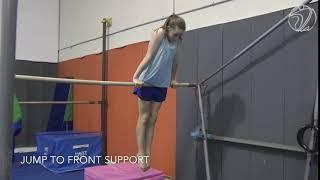 Jump to Front Support (Testing skill)