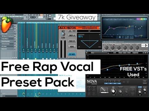 Free Rap Vocal Presets for FL Studio (7k Gold Preset Pack) - YouTube