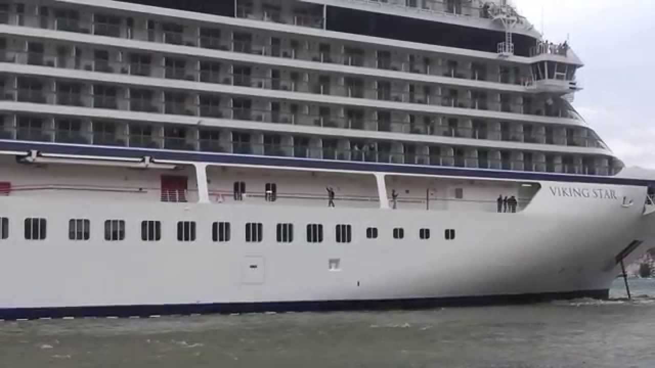 Kotor 742015 Viking Star Cruise Ship Almost Grounded