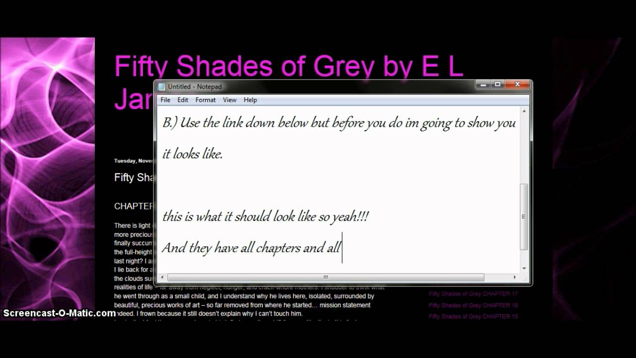 fifty shades of grey book online