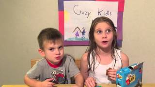 Clif Kid Organic Z Bars - Healthy Treat Review by Crazy Kids Reviews