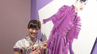 大阪の大丸ミュージアム梅田で開催中のももいろクローバーZの結成10...