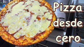 Como hacer pizza desde cero