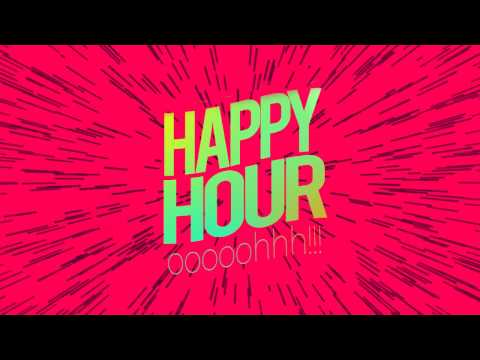 Odunsi- Happy Hour Feat. Økuntakinte (LYRIC VIDEO)