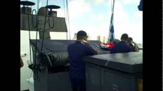 Life Aboard the USCG Cutter Venturous  August 2011