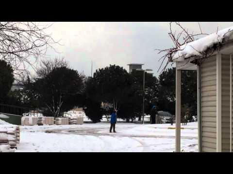 Fast Vlog - İstanbulda karlı bir gün  | Snowy day in İstanbul