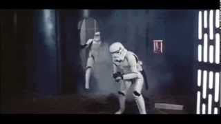"Hilarious Storm Troopers from Star Wars Blooper Reel from ""The Making of Star Wars"""