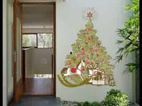 Vinilos navidad para decorar ventanas escaparates - Adornar escaparate navidad ...