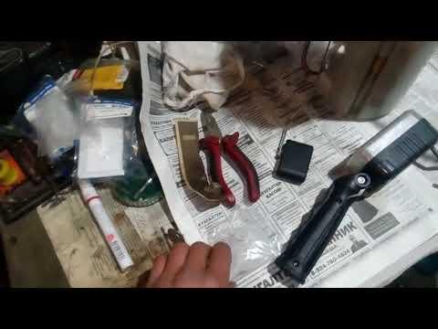 Ш-Каптива замена топливного фильтра(сетки)