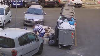 Rifiuti per strada: le fototrappole del Comune incastrano gli incivili