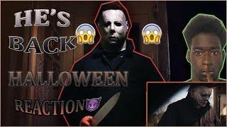 Halloween - Official Trailer (HD) REACTION😱😱😱