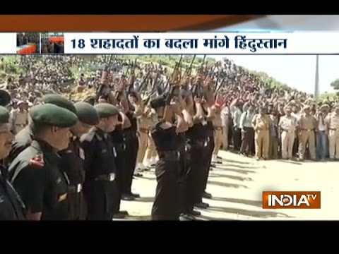 Army and Family Members Pay Tribute to Martyrs of Uri Terror Attack