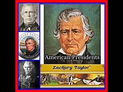 American Presidents - Zachary Taylor 12th US President