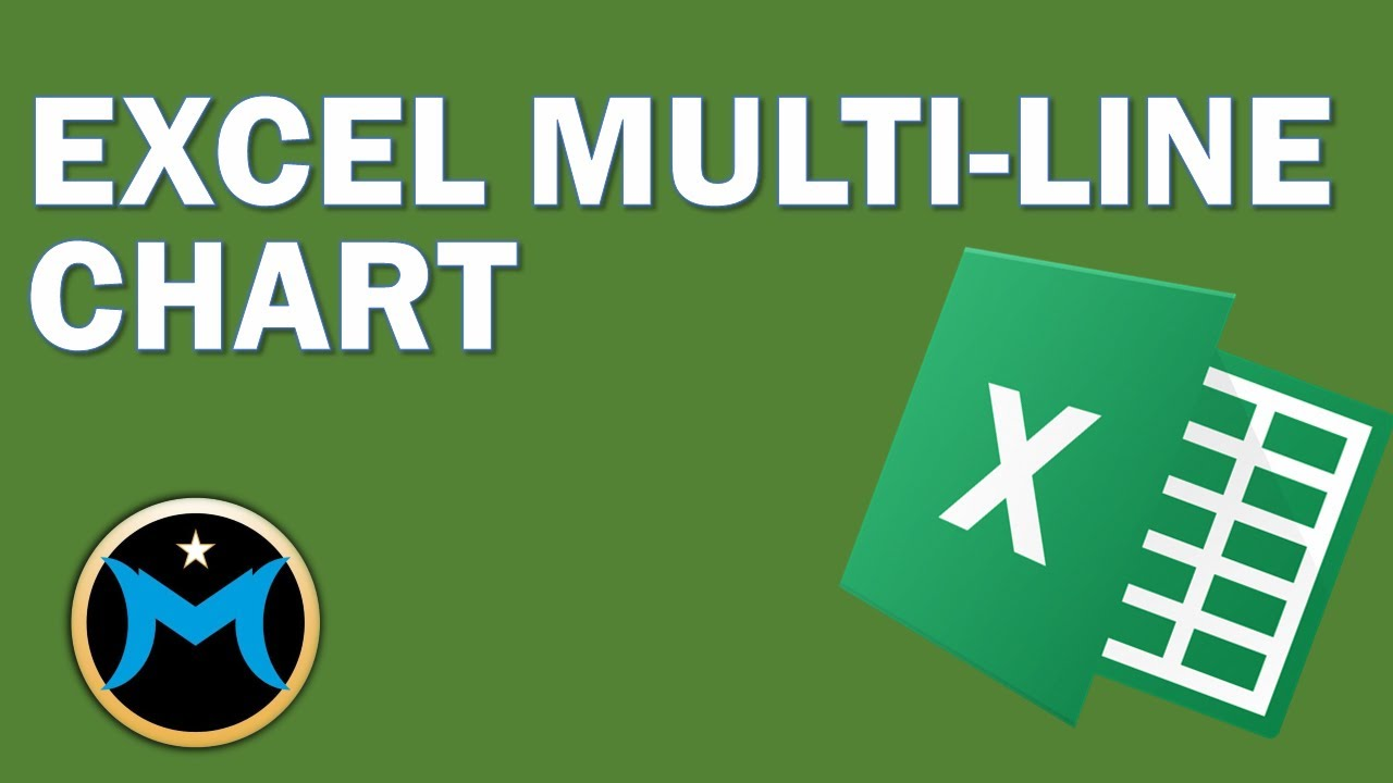 Excel multi line chart youtube excel multi line chart ccuart Images