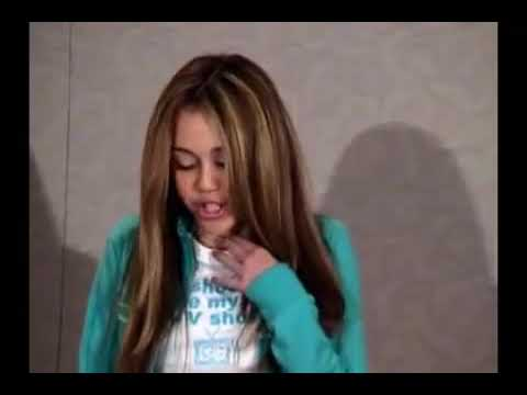 Miley Cyrus Audition Tape for Hannah Montana