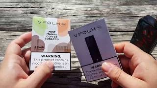 New Vfolk ecig Vape Review Hands On First Thoughts Juul Like Device