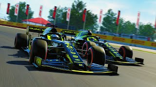 SPECIAL ONE-OFF HOME GP LIVERY! TOP 5 RACE FOR THE WIN?! - F1 2020 MY TEAM CAREER Part 123