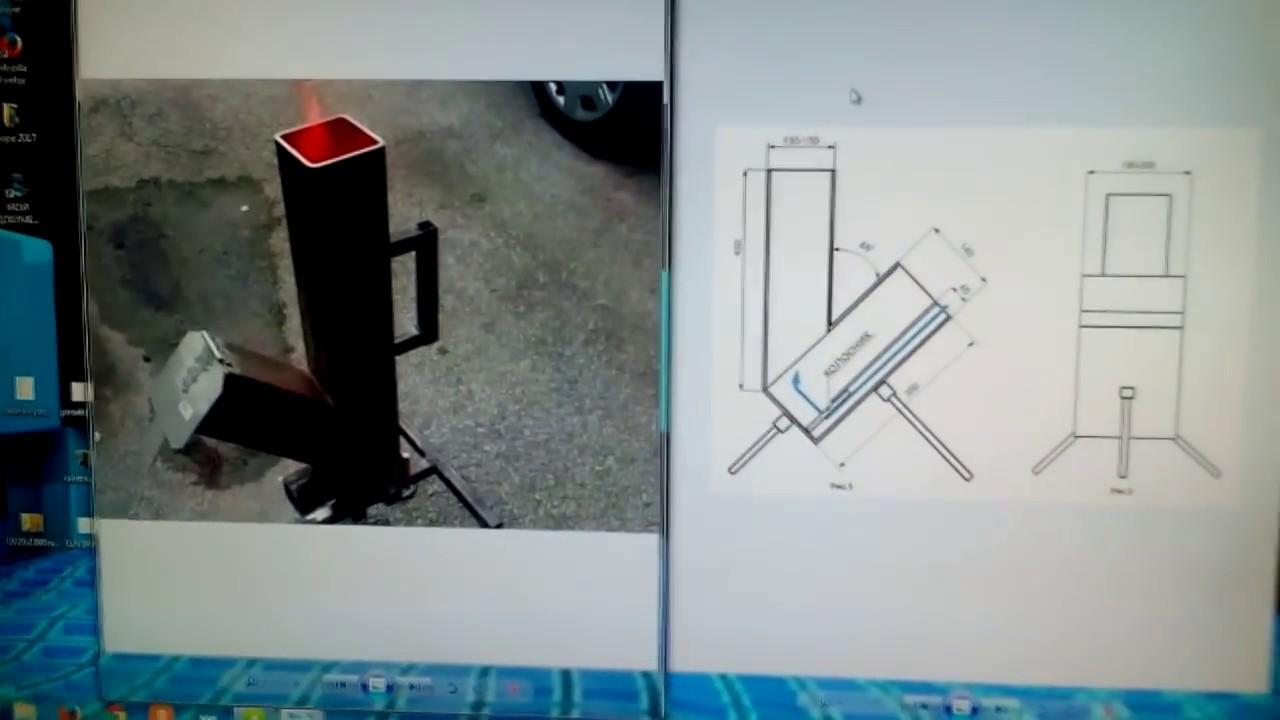 Ракетная печь своими руками фото 297