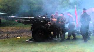 25 Pounder Artillery Gun (Vera) Firing 21-04-12 Edited Version NEAM.avi