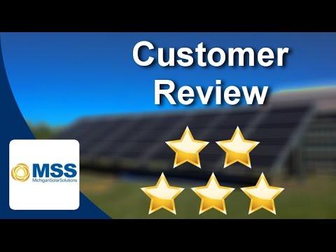 Michigan Solar Solutions Reviews (248) 520-2474