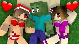 Monster school : Zombie Love Curse - Funny Minecraft animation