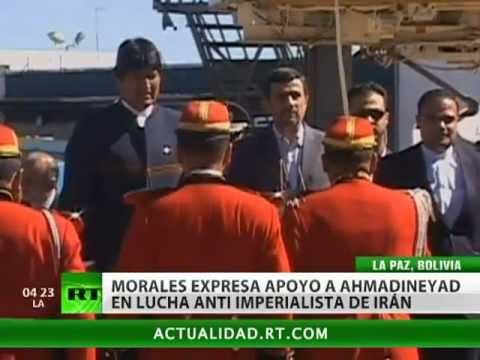Bolivia e Irán refuerzan su alianza antiimperialista