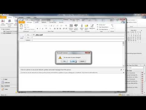How to create contact groups in outlook