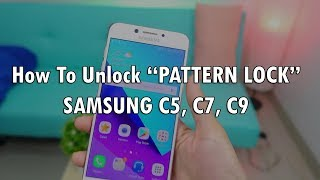 How Unlock Password / Pattern Lock  / Forgotten Password  Hard Reset Samsung C5,