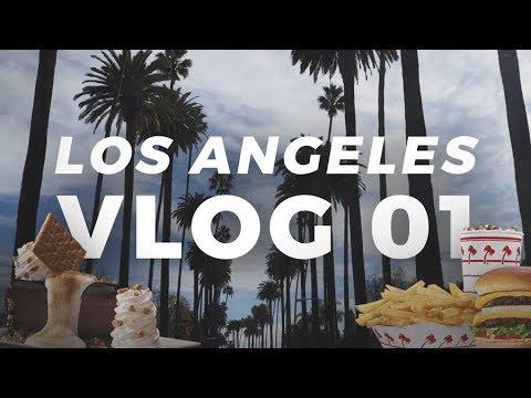 Los Angeles VLOG 01 - Mitä päivässä ehtii tekemään?