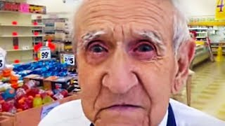 This 94-Yr-Old Grocery Store Worker Got Laid Off. What Customers Did In Return Will Make You Cry.