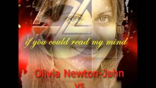 If I Could Read Your Mind Stars on 54 vs Olivia Newton-John Mash-up