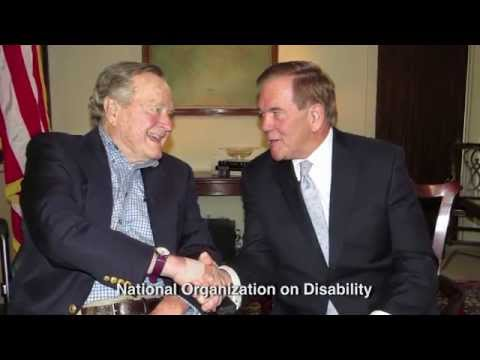 ADA25: Pres. George H.W. Bush & NOD Chairman Tom Ridge Commemorate the 25th Anniversary of the ADA
