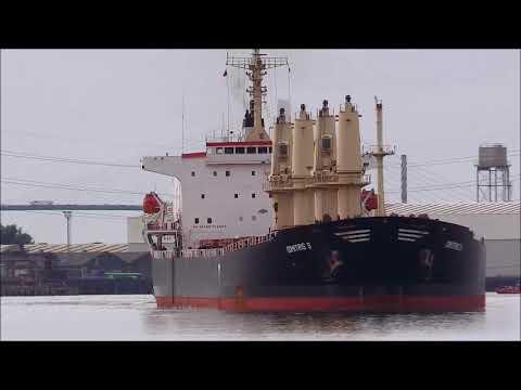 DIMITRIS S  Bulk Cargo Ship, 30/08/2018, Thames Shipping by R.A.S