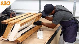 How to make a modern shoe rack