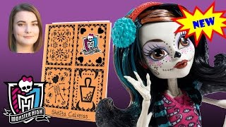 Skelita Calaveras Doll from Monster High Art Class